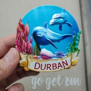 Other - Durban Whale Marine South Africa Fridge Magnet